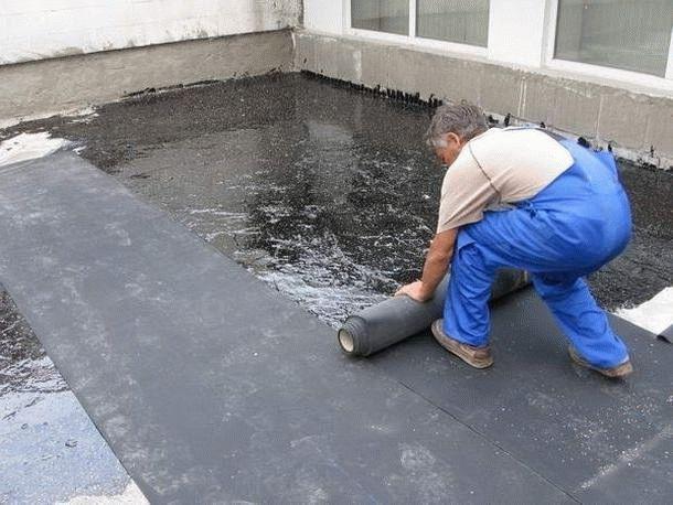 Покрытие крыши стеклоизолом своими руками