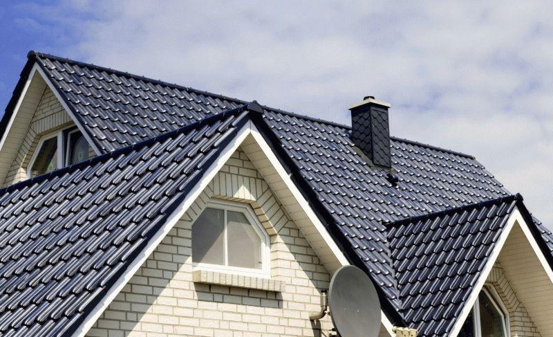Как крепить сливы на крышу