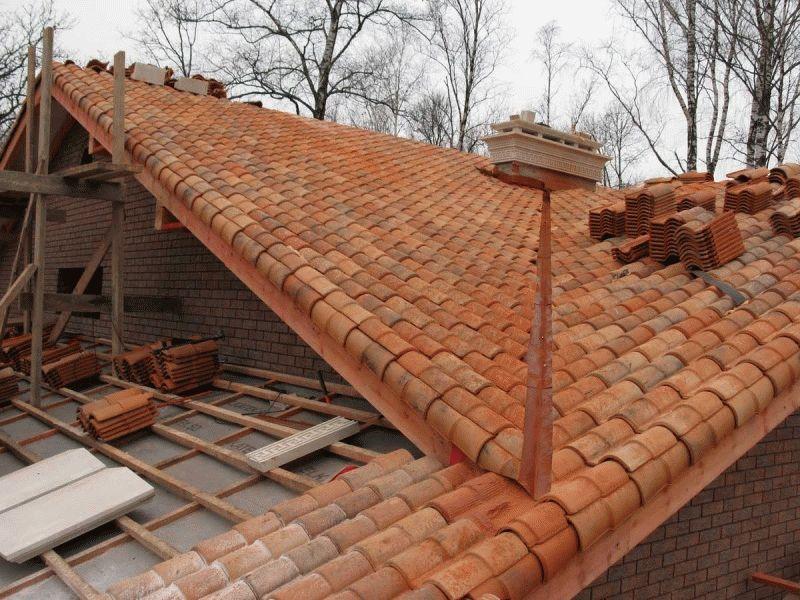 Круглая крыша