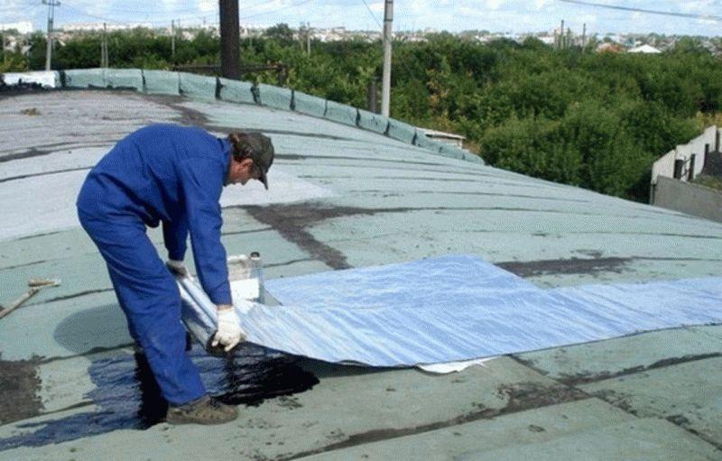 Парапет крыши