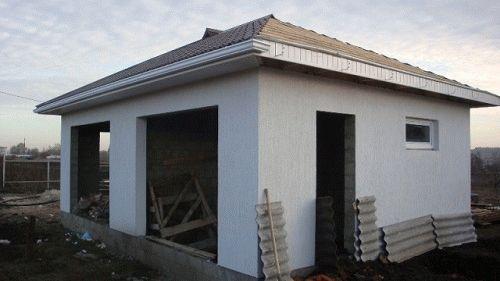 Угол двускатной крыши