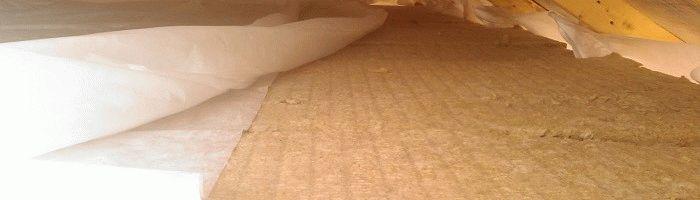 Как утеплить крышу бани
