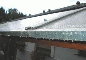 как закрепить поликарбонат на крыше