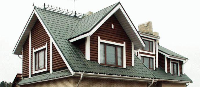Стропильная система четырехщипцовой крыши