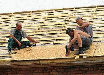 Как покрыть крышу колодца мягкой черепицей