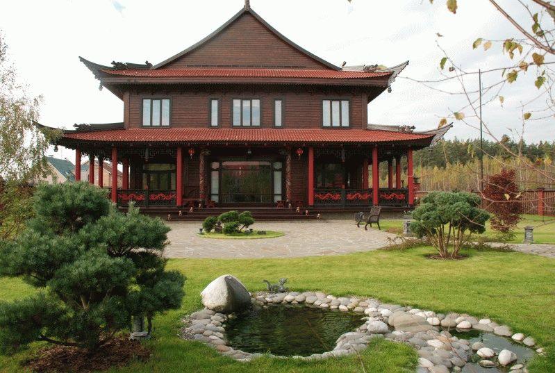 Проекты домов в восточном стиле