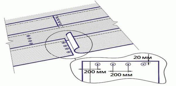 На металлочерепицу крышу стороной под гидроизоляцию класть какой