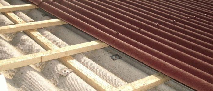 Крыша гвозди или саморезы