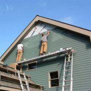 Фронтоны односкатной крыши
