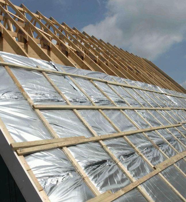 Крыша из металлочерепицы из чего состоит