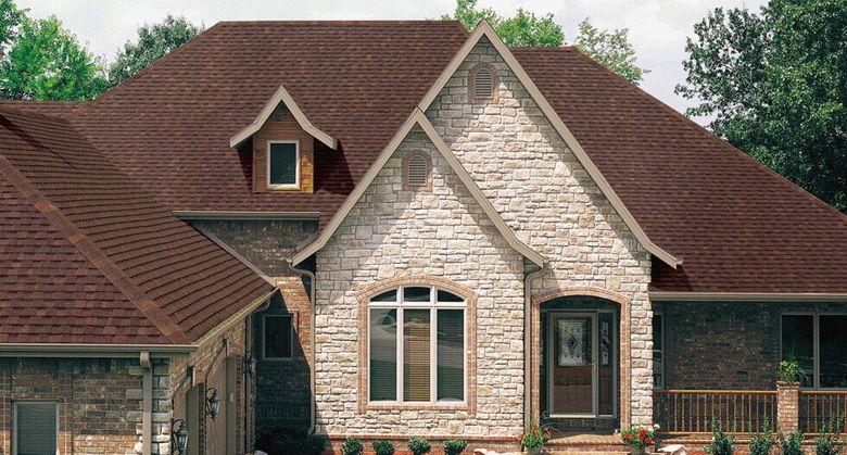 Одноэтажный дом проекты с гибкой черепицей фото